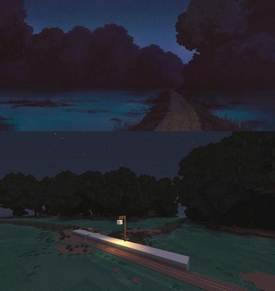 El viaje de Chihiro Minecraft 11