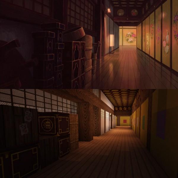El viaje de Chihiro Minecraft 13