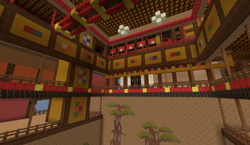 El viaje de Chihiro Minecraft 15