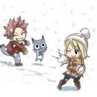 Fairy Tail snow