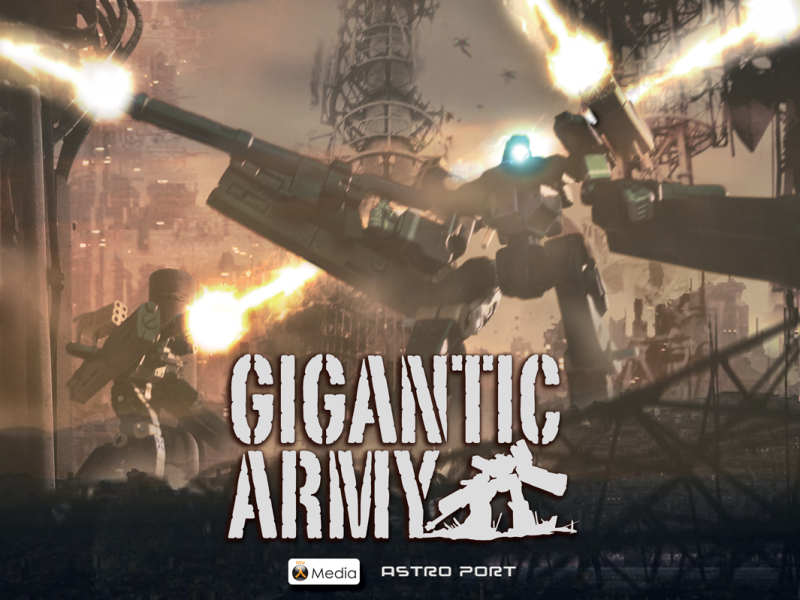 Gigantic Army arte