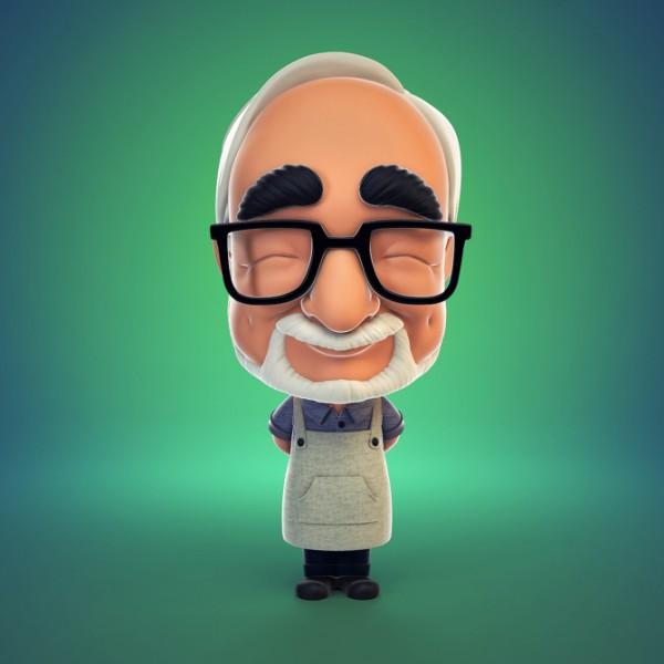 Hayao Miyazaki Figura 01