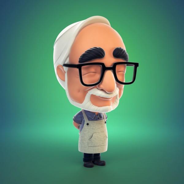 Hayao Miyazaki Figura 02