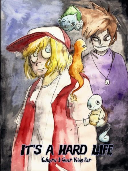 Its a hard life webcomic