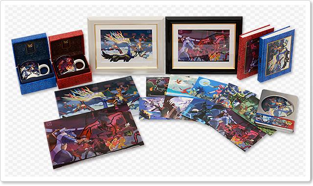 Ken Sugimori Pokemon X Y merchandising