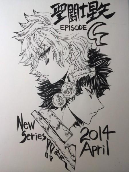 Saint Seiya Episodio G nuevo manga