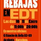 edt rebajas 10 11 enero 2014