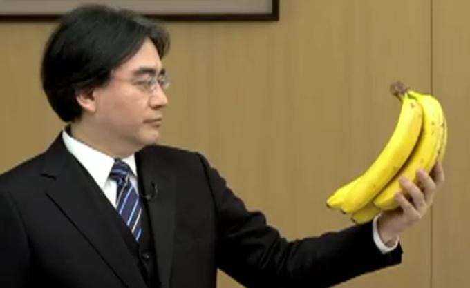 satoru iwata banana