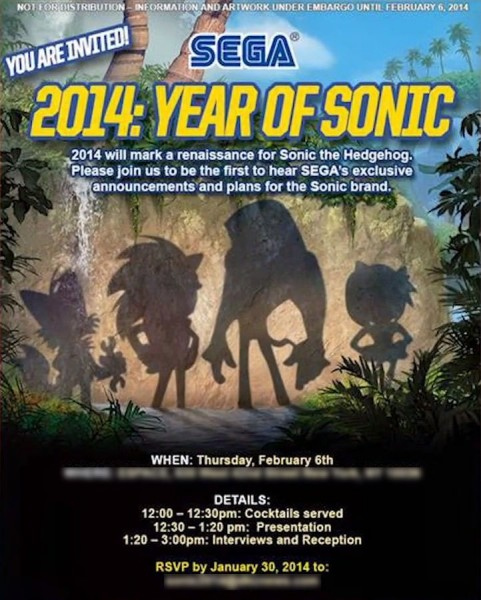2014 year of sonic