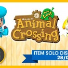 Animal Crossing 3ds guitarra doble mastil