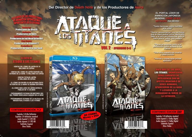 Ataque a los Titanes 2 Selecta Vision