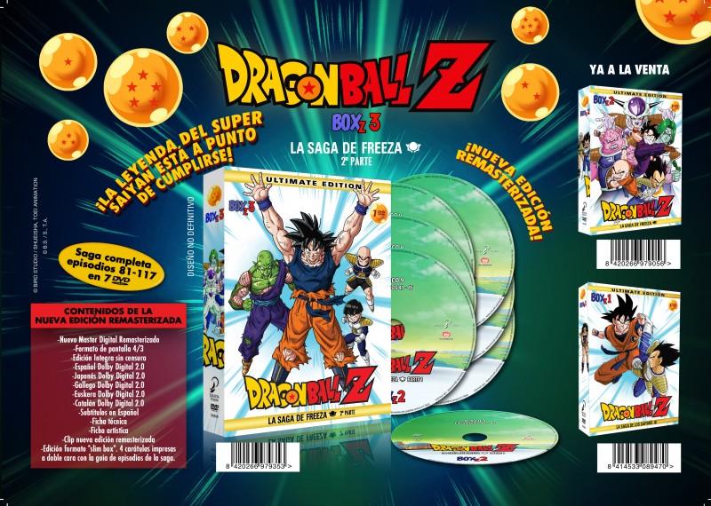 DragonBall Z Box 3 Selecta Vision