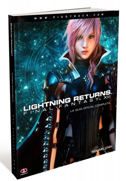 Guia oficial Lightning Returns Final Fantasy XIII 419x600 Guía oficial de Lighting Returns: Final Fantasy XIII en español
