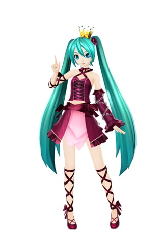 Hatsune Miku Project Diva F 2nd 07