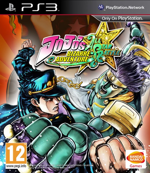 JoJo's Bizarre Adventure PAL Cover