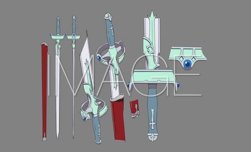Lambent Light espada Sword Art Online MOVIC 10