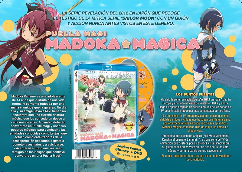 Puella Magi Madoka Magica BD Combo Selecta Vision