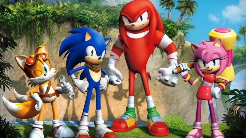 Sonic Boom personajes CG