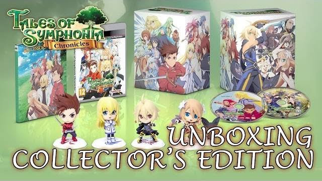 Tales of symphonia chronicles collectors unboxing