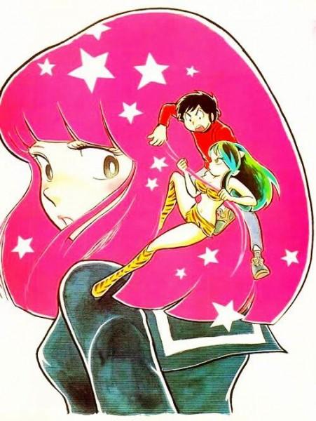 Urusei Yatsura Lamu artwork