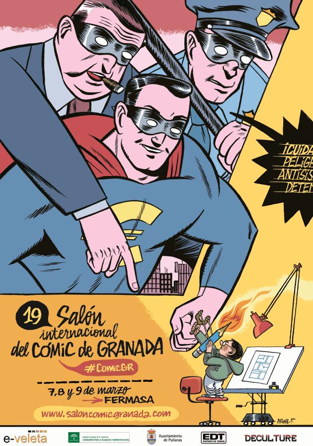 XIX salon comic granada