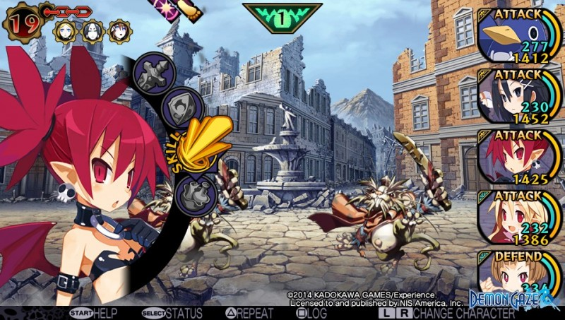 Demon Gaze Disgaea 13