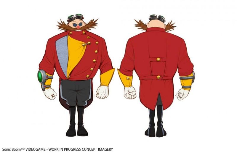 Eggman design Sonic Boom