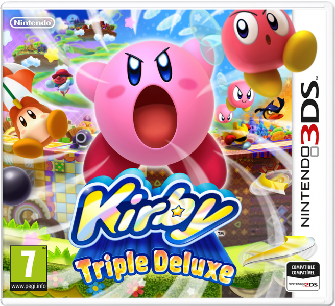 Kirby Triple Deluxe pal cover