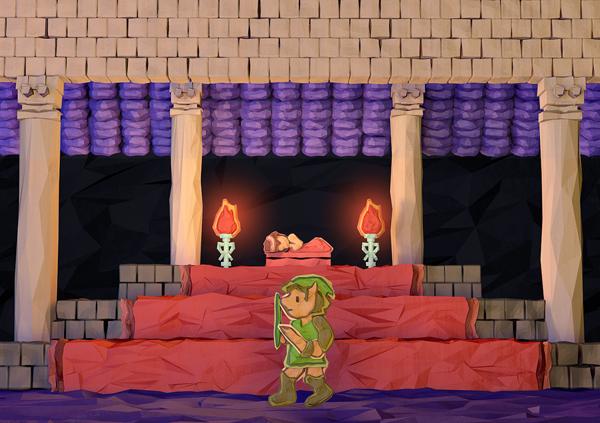 Zelda NES Origami