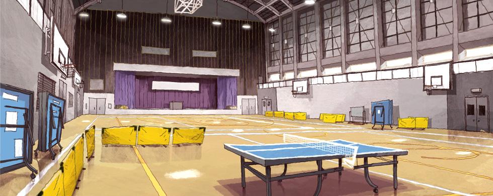 ping pong anime escenario 2