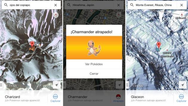 how to get pokemon challenge on google maps