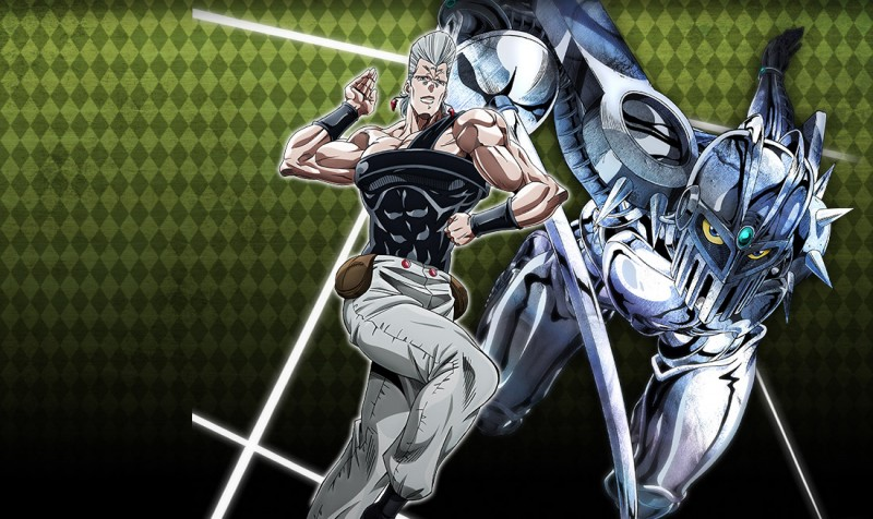polnareff jojos bizarre adventure the animation