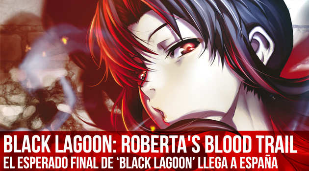 Black Lagoon Roberta Blood Trail Portada