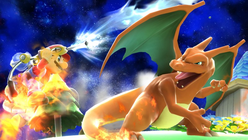 Charizard Smash Bros 3DS WiiU (7)