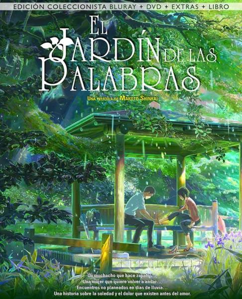 El Jardin de las palabras Blu ray coleccionista 01