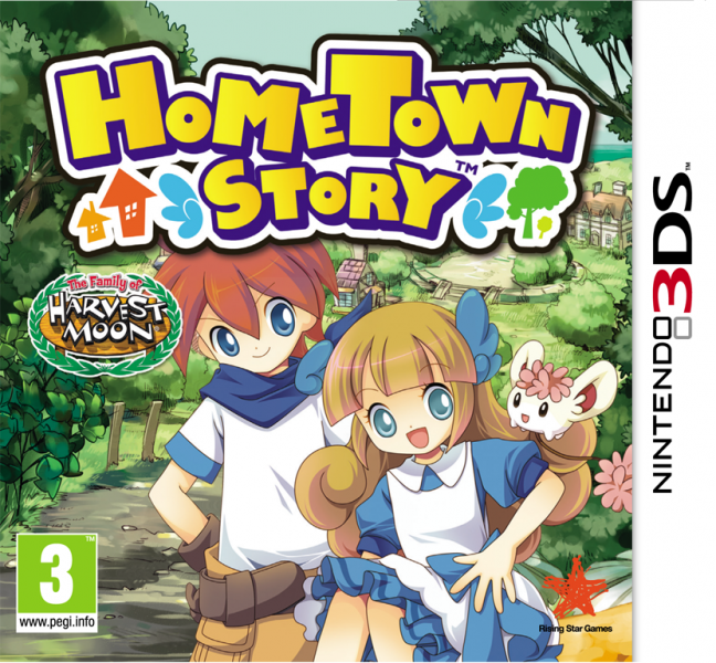 Hometown Story PAL Cover ESP