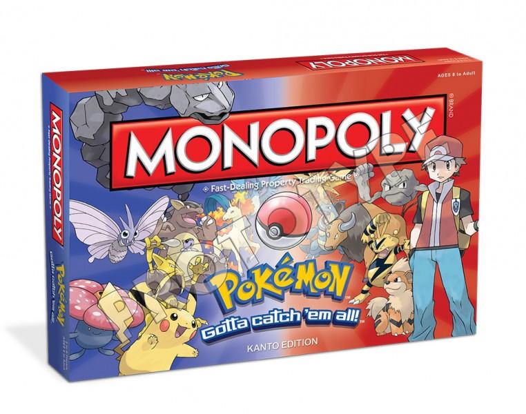 Monopoly Pokemon box