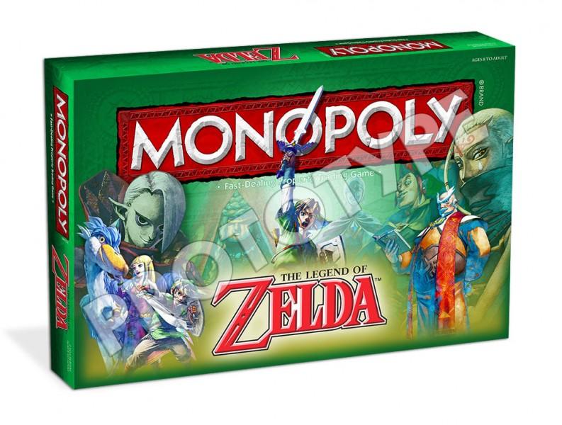 Monopoly Zelda box