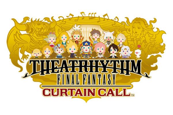 Theatrhythm final fantasy curtain call logo pal Theatrhythm Final Fantasy: Curtain Call, nuevo tráiler: de FFIV a FFVI