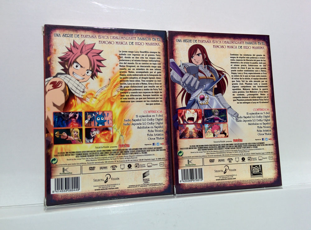fairy tail dvd selecta vision 5