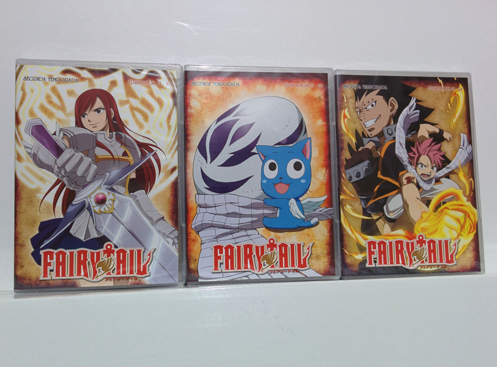 fairy tail dvd selecta vision 9