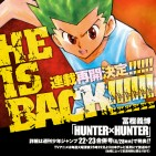 hunter x hunter regresa