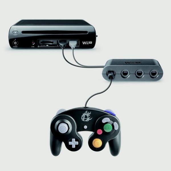 adaptador mando gamecube wii u