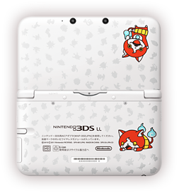 nintendo 3ds xl yo kai watch 2