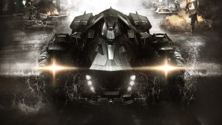 Batman Arkham Knight batmovil