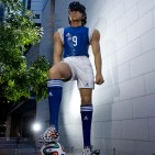 Captain Tsubasa statue 02