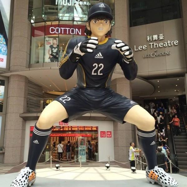 Captain Tsubasa statue 03