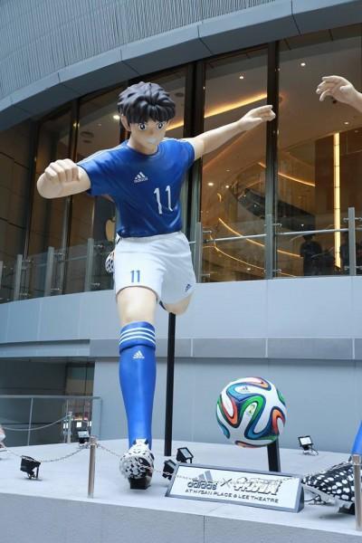 Captain Tsubasa statue 06