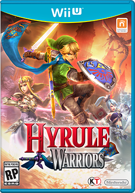 Hyrule Warriors cover usa