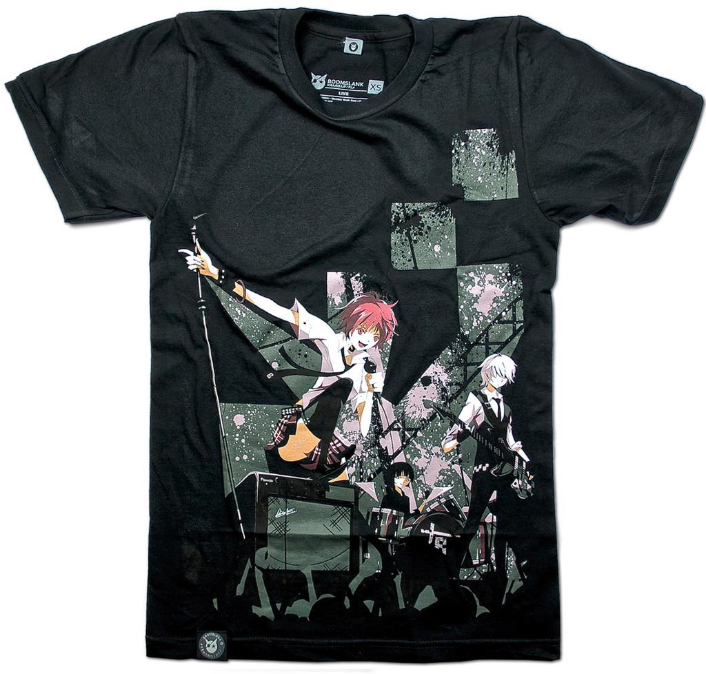 Live camiseta